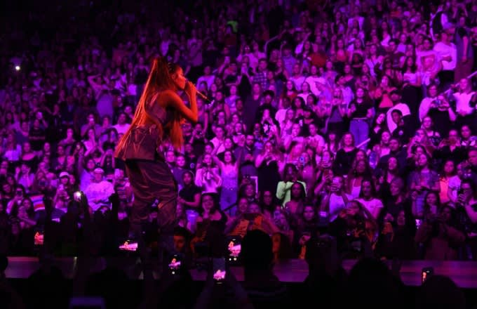 Ariana Grande's First Sweetener World Tour Show Featured a Mac Miller Tribute