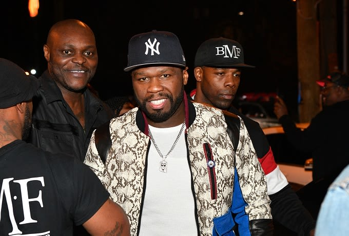50 Cent and La La Anthony Producing New Series for Starz