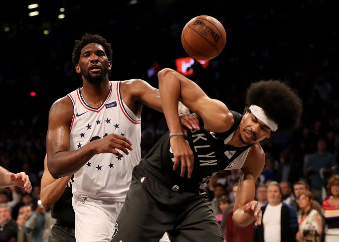 Brooklyn Nets Reportedly Believe Joel Embiid Should Have Two Flagrant 2 Fouls in Playoffs Series