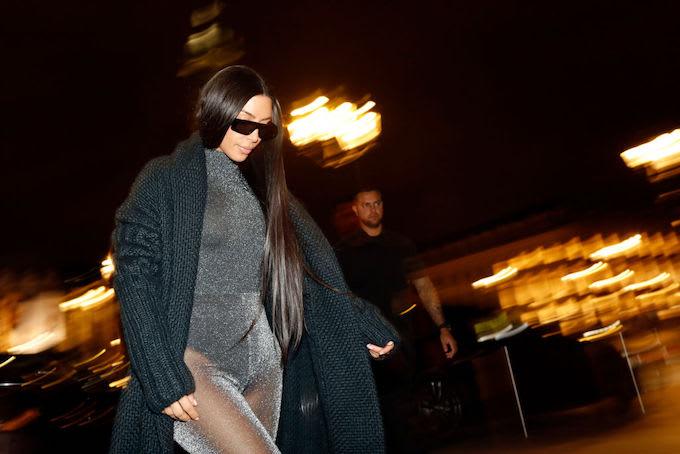 Kim Kardashian Laughs off Rumors of Naomi Campbell Feud