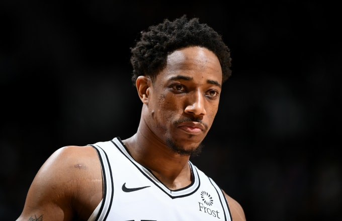 DeMar DeRozan Has Been Fined $25k for Throwing Ball Toward Ref