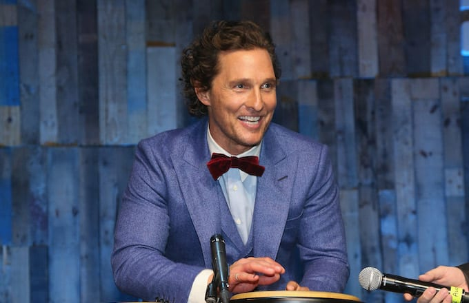 Matthew McConaughey Gets His Old High School Diploma After Delivering Commencement Speech