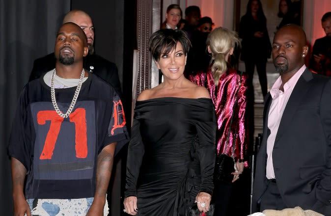 Kris Jenner Said Kanye West Disrespected Her Boyfriend Corey Gamble