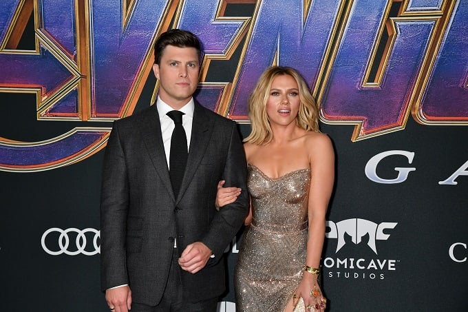 Colin Jost and Scarlett Johansson Are Engaged