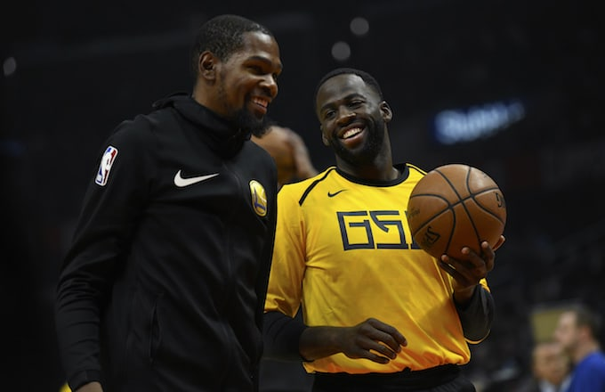 Draymond Green Credits Kevin Durant for Helping Him Control His Temper