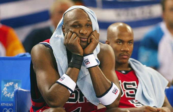 Lamar Odom Admits to Using Prosthetic Penis to Pass Drug Test for 2004 Olympics