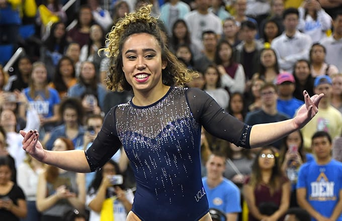 UCLA Gymnast Katelyn Ohashi's New Routine Doesn't Feature Michael Jackson This Time