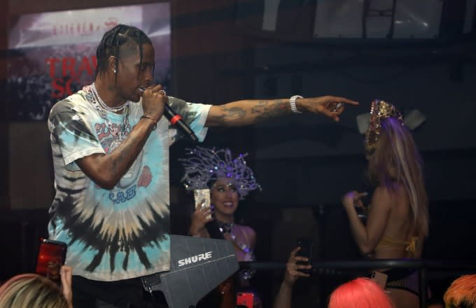 Travis Scott Teases New Song at Rolling Loud