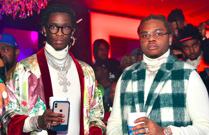 Gunna Takes Cue From Young Thug, Rocks Chanel Purse With No Apologies