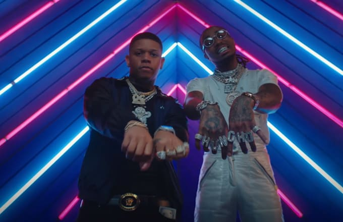 """Quavo and Gucci Mane Join Yella Beezy for """"Bacc at It Again"""" Video"""