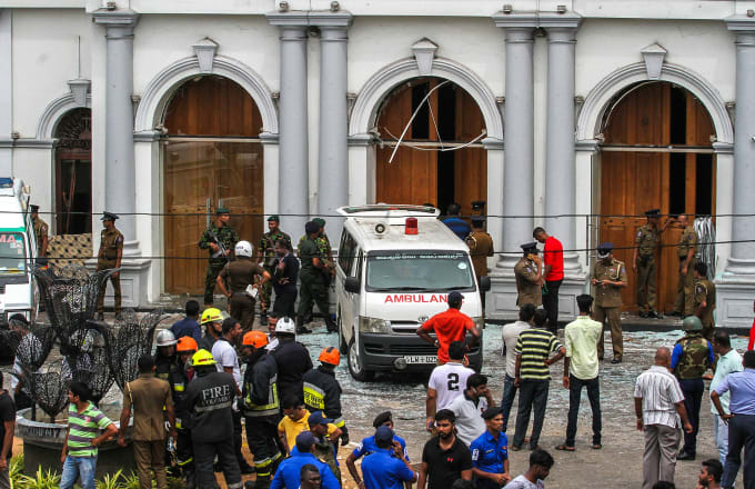 Sri Lanka Easter Day Bombings Leaves Over 200 Dead and 400 Injured