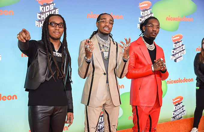 Migos Perform Medley at Kids' Choice Awards and Stoke 'Culture III' Hype
