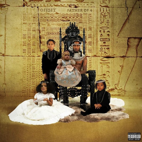 Stream Offset's Debut Solo Album 'Father of 4' f/ J. Cole, Cardi B, Travis Scott, and More