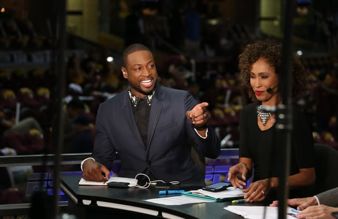 ESPN and TNT Reportedly Vying to Sign Dwyane Wade as an Analyst