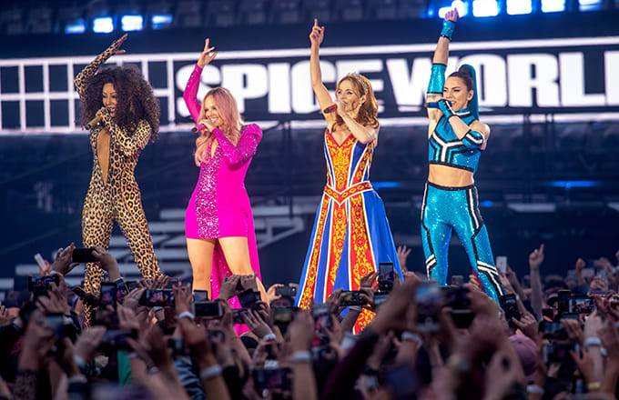 Spice Girls Reunion Tour Off to Rough Start With Sound Issues
