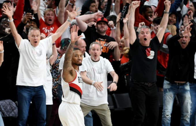 Damian Lillard Declared 'I'm Getting Rid of These Motherf*ckers' Night Before Eliminating OKC