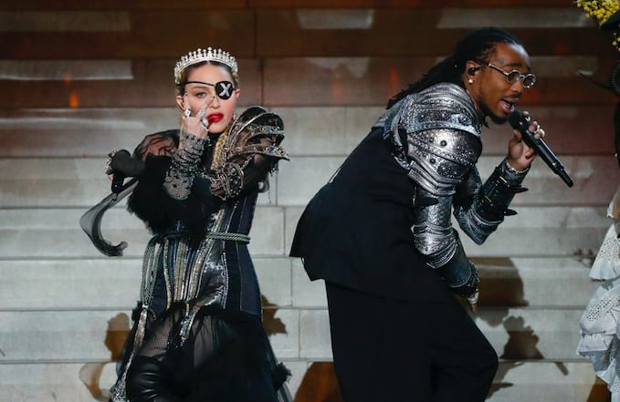 Quavo and Madonna Take the Stage at 2019 Eurovision