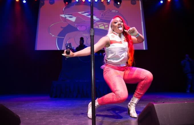 Megan Thee Stallion Doesn't Waste a Single Second of Her Fire in the Booth Freestyle
