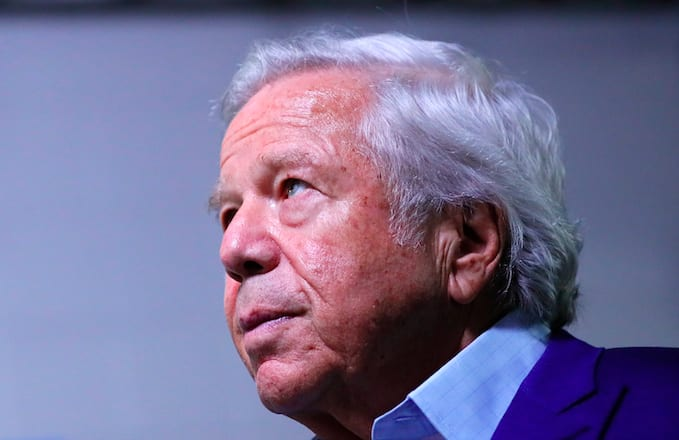 Robert Kraft Breaks His Silence on Prostitution Sting: 'I Am Truly Sorry'