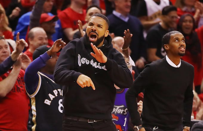 Drake Trolls Bucks Fan Gucci Mane Over Raptors' Win