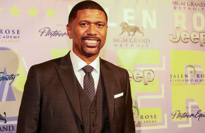 Jalen Rose Makes Ill-Advised Comment in Front of Girlfriend Molly Qerim on 'First Take'