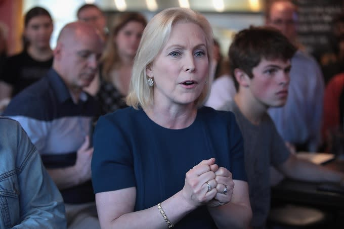 Kirsten Gillibrand Accuses Trump of Starting 'War on Women' With Abortion Bans