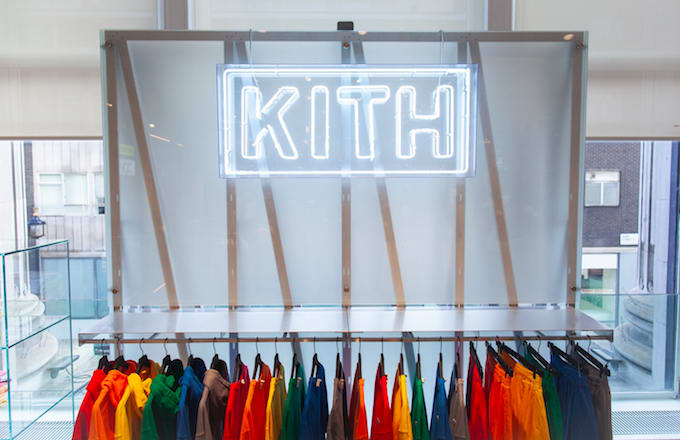 Check Out Kith's Newly Opened Shop in Selfridges London