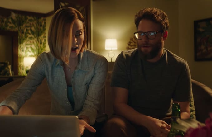 Watch the Red Band Trailer for Seth Rogen and Charlize Theron's Buzzy Rom-Com 'Long Shot'