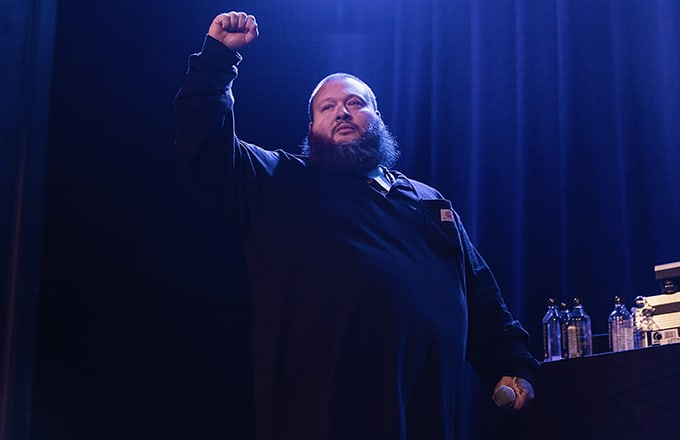 Action Bronson Blinded by Light During Performance, Leaves Show to Go to Hospital