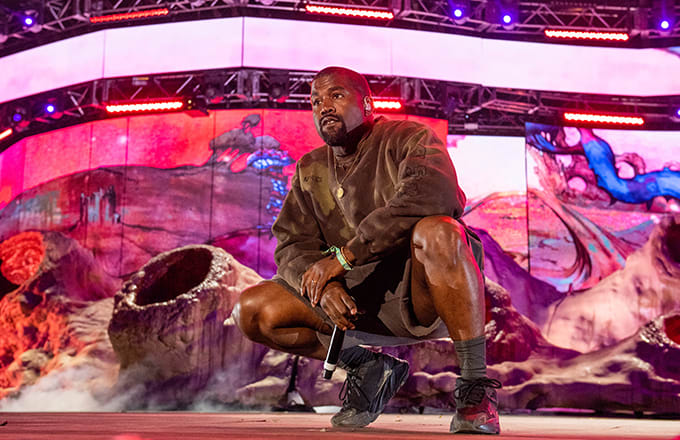Livestream Kanye West's Coachella Sunday Service