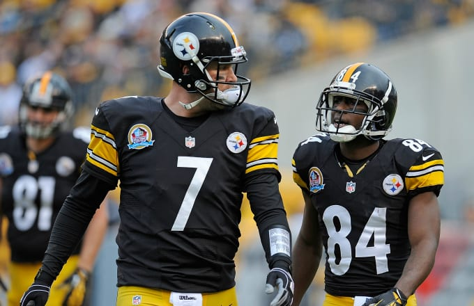Ben Roethlisberger Apologizes to Antonio Brown for Denver Comments: 'I Genuinely Feel Bad About That'