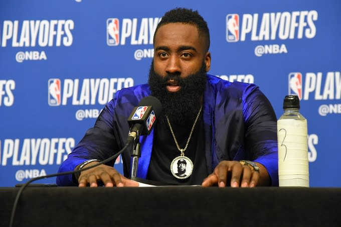 James Harden Honors Nipsey Hussle With Tribute Chain