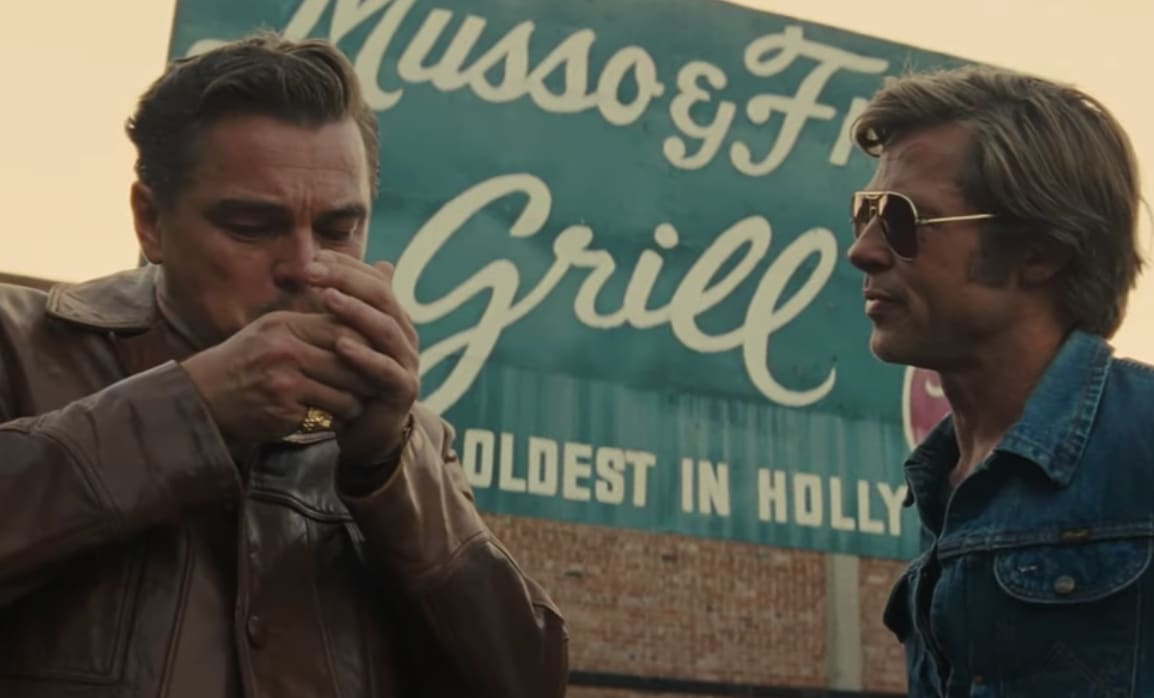 Watch the Official Trailer for Tarantino's 'Once Upon a Time in Hollywood'