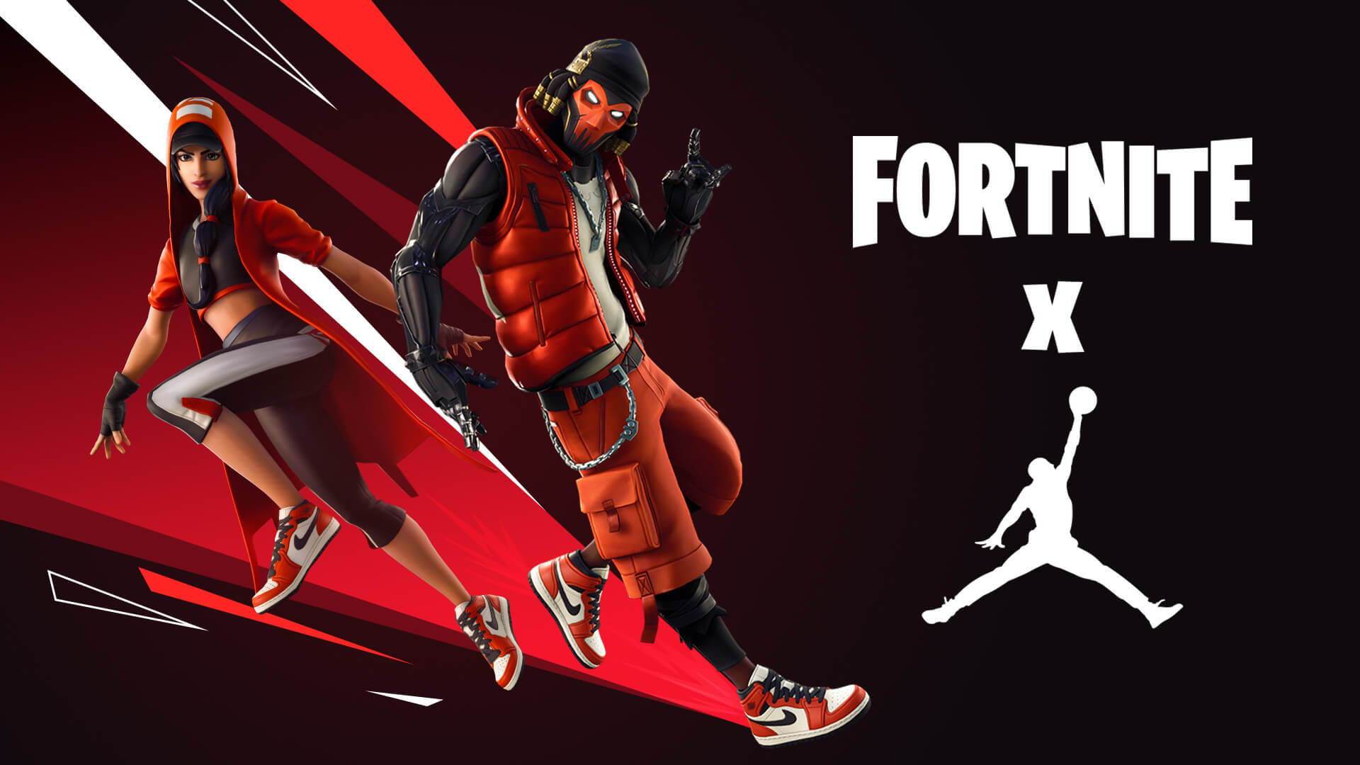 Fortnite and Jordan Brand Launch Downtown Drop LTM