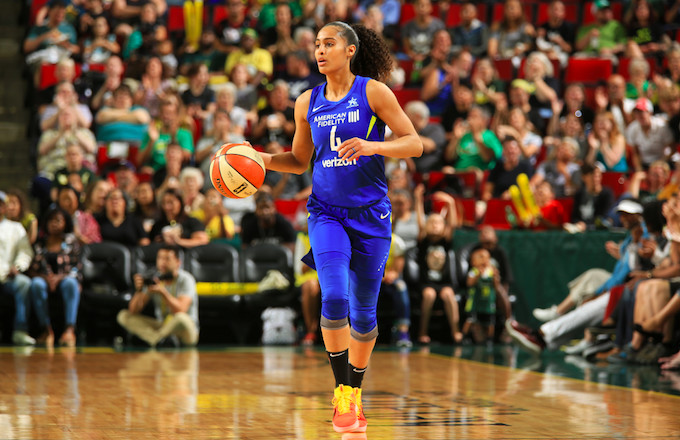 Skylar Diggins-Smith Reveals She Played Entire 2018 Season While Pregnant