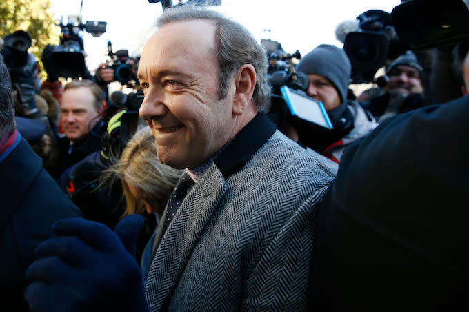 Kevin Spacey's Sexual Assault Case Dismissed