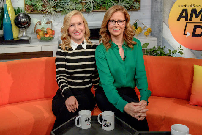 Jenna Fischer and Angela Kinsey Predict the Fates of 'The Office' Characters
