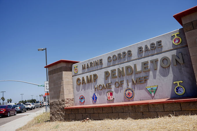 Marine Who Allegedly Abandoned Base to Target Child Traffickers Found