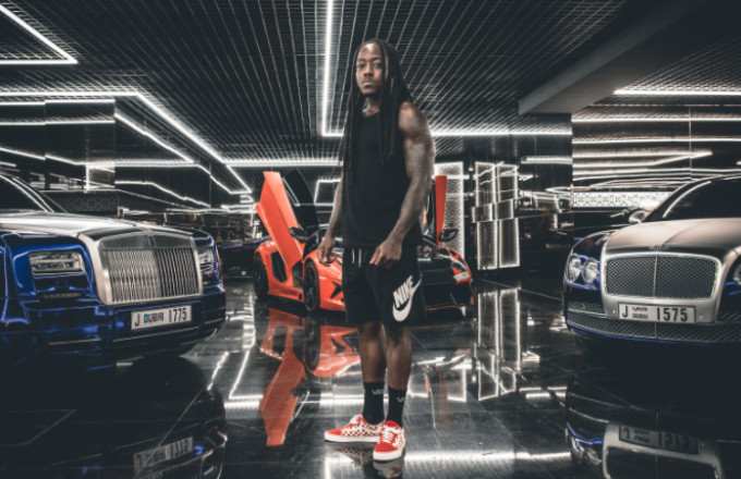 """Premiere: Ace Hood Turns Up in Dubai in """"3 Bless"""" Video"""