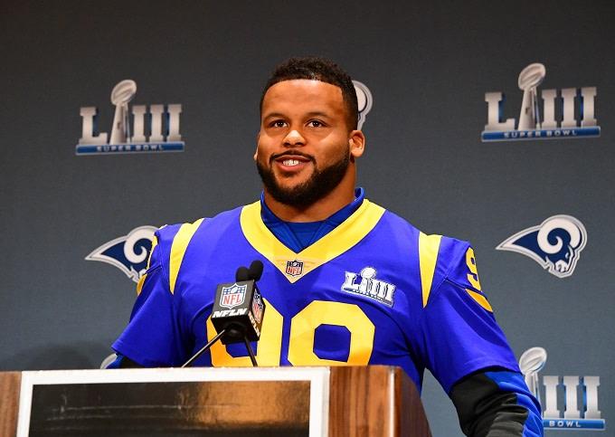 Aaron Donald Tops List of NFL's 100 Best Players