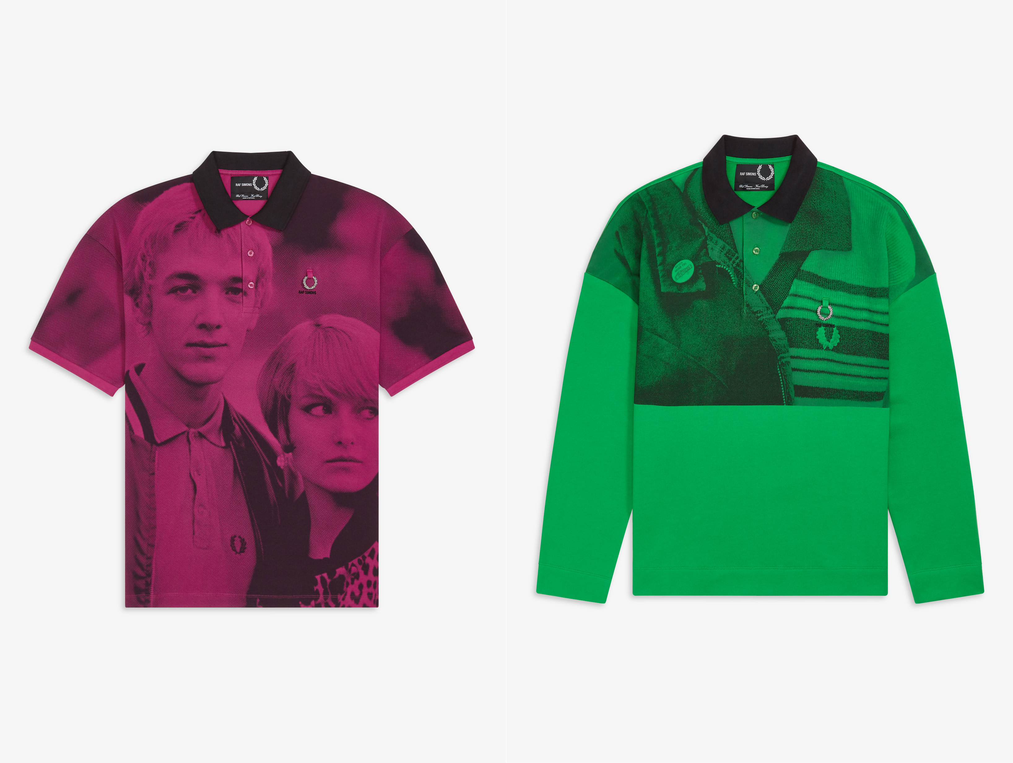 The Latest Fred Perry X Raf Simons Collection Is a Photography Showcase