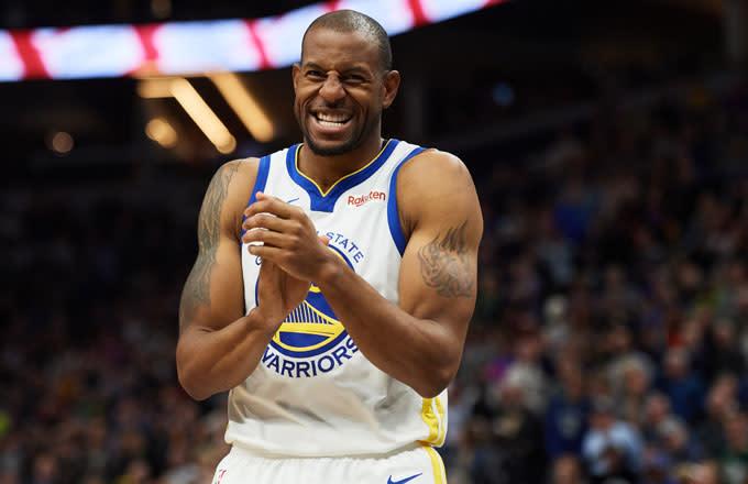 Andre Iguodala on Warriors Free Agency: 'Nobody's Going to the Knicks, Sorry'