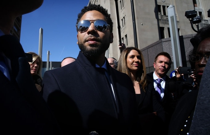 Jussie Smollett, Alleged Attackers Googled Actor's Name Over 50 Times Following Incident, Police Docs Say