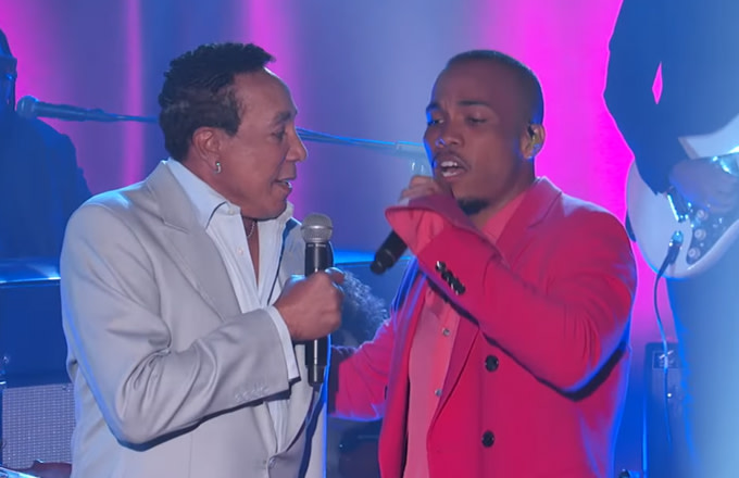 """Watch Anderson .Paak Perform """"Make It Better"""" With Smokey Robinson on 'Kimmel'"""