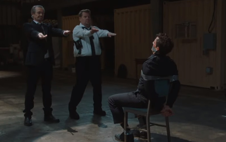 Steve Buscemi and Tim Roth Reimagine Classic 'Reservoir Dogs' Scene on 'Late Late Show'