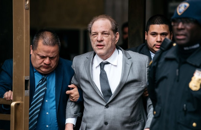 Disgraced Producer Harvey Weinstein Struggles to Walk at Court Appearance Ahead of Rape Trial