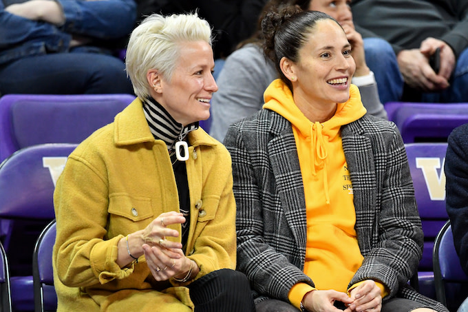 Sue Bird Pens Critical Op-Ed in Response to Trump's Remarks About USWNT's Megan Rapinoe