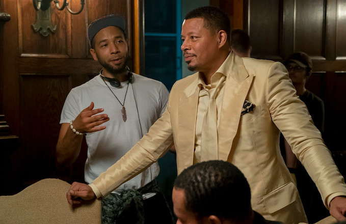 'Empire' Sets Up Production at the Scene of Jussie Smollett's Alleged Attack