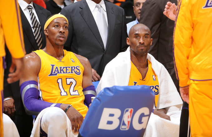 Dwight Howard Thanks Kobe Bryant for Calling Him 'Soft'