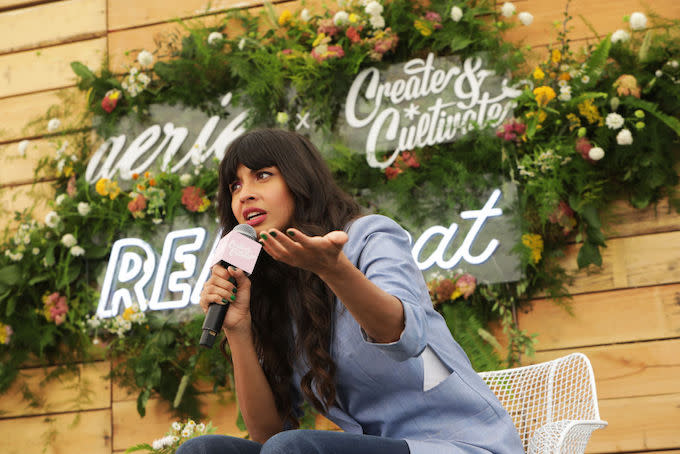Jameela Jamil Calls Out Amber Rose for Promoting Flat Tummy Products While Pregnant